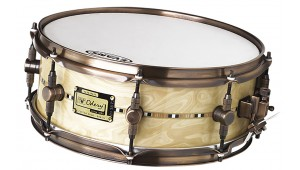 高端定制 14 X 5,5 RADICA 枫木镶嵌鼓 Caixa Custom-Shop 14 x 5,5 Radica Maple & Inlay