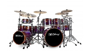 Bateria Custom Shop Purple Fade