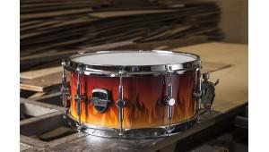 Caixa Custom 14 x 6,5 Laqueado Fire