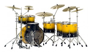 Bateria Custom Shop Yellow Black