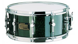 Caixa Custom 14 x 6.5 Green Sparkle