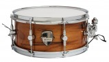 "Caixa Custom Shop 13 x 06"" Teca Natural Brilhante"