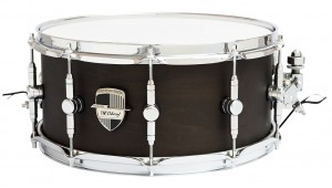 "Caixa Custom Shop 14 x 6,5"" Transparent Black"