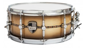 "Caixa Custom Shop 14 x 6,5"" Magma Vintage & Pixel Inlay"