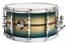 "Caixa Custom Shop 14 x 7,5"" Transparent Blue Burst & Pixel Inlay"