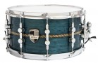 "Caixa Custom Shop 14 x 7,5""Transparent Blue & Pixel Inlay"