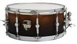 "Caixa Custom Shop 14 x 6,5"" Black Fade Satin"