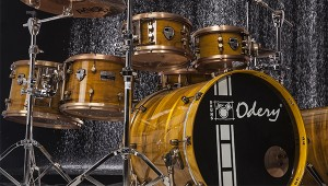 Bateria Custom Dyed Gold Lacquer