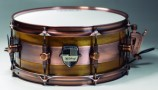 "Caixa Custom Shop 14 x 6,5"" Híbrida Acetinado Natural Fosco"