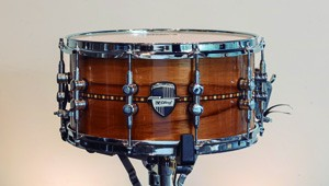Caixa Custom Shop 14 x 07″ Teca Inlay Laqueado Natural