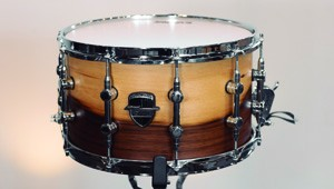Caixa Custom Shop 14 x 08″ Teca Laqueado Natural Acetinado