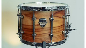 Caixa Custom Shop 14 x 10″ Teca Laqueado Natural Acetinado