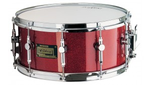 Caixa Custom 14 x 6.5 Red Sparkle