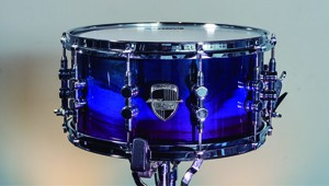 Caixa Custom-Shop 14×07″ Laqueado Transparent Purple Fade & Super Blue