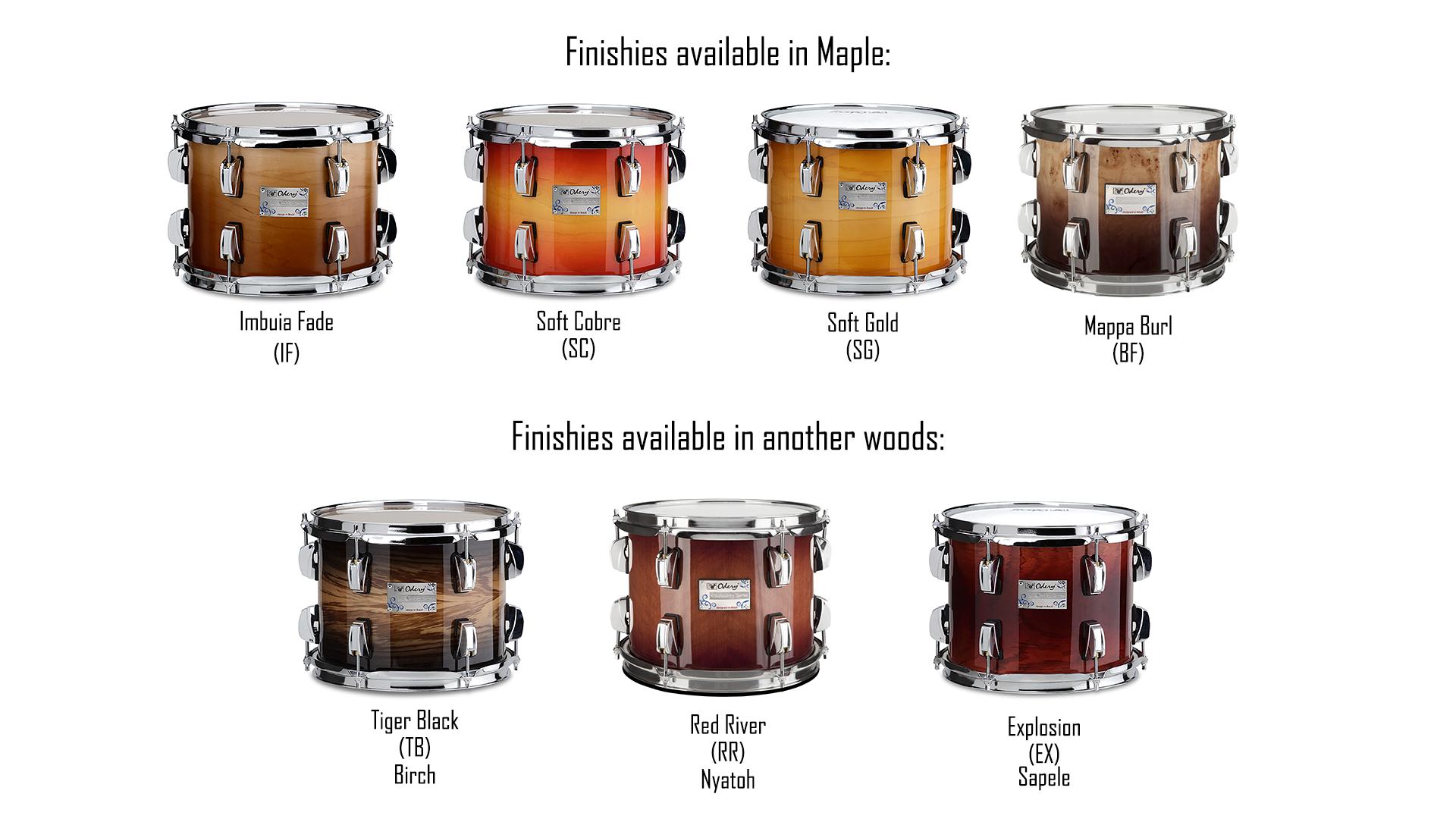 Kits | Odery Custom Drums