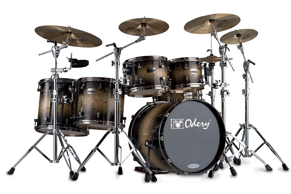 Custom Shop Exotic Motion Odery Custom Drums