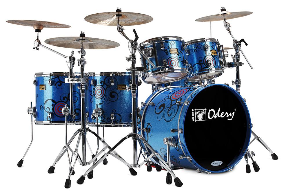 Custom Shop Psychedelic Odery Custom Drums